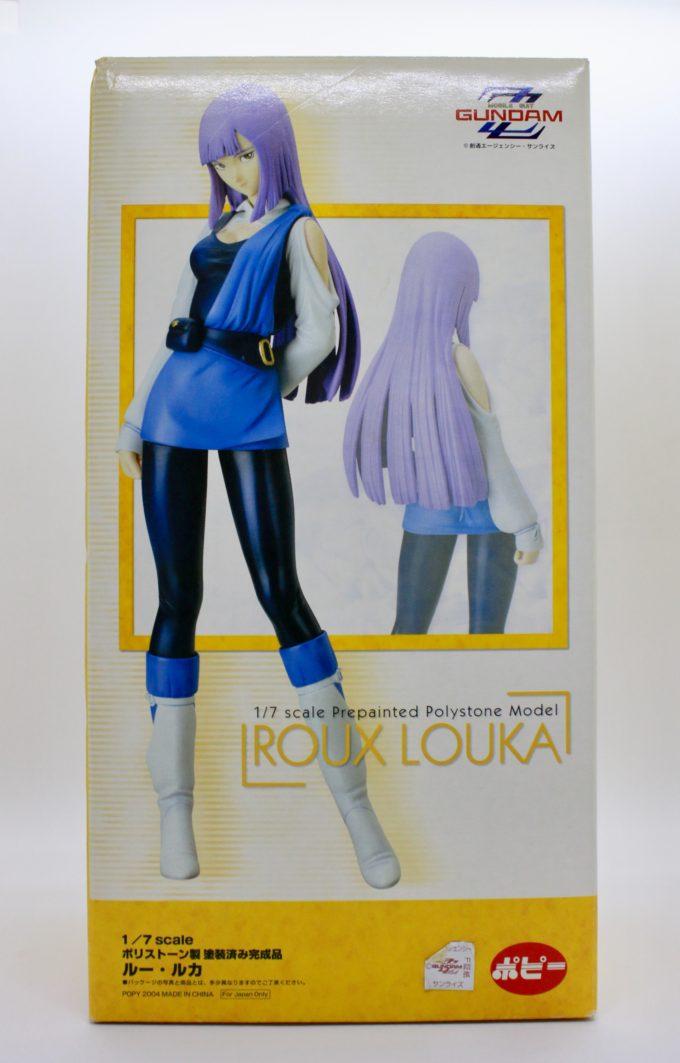 ルー・ルカのフィギュアの箱の画像です