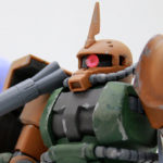 【ガンプラ】HGUC ザクII FS型(ガルマ・ザビ専用機)レビュー