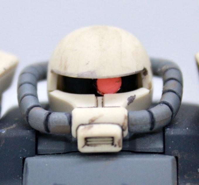F2ザク(キース機)の頭部の画像です