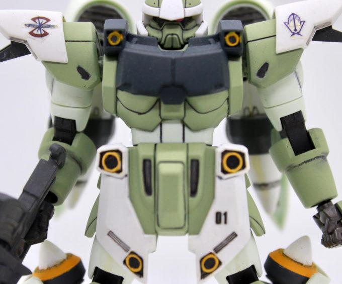ジンハイマニューバの胴体装甲の画像です