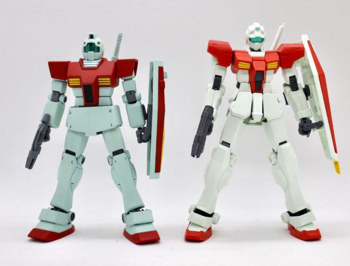 GM/GMとジムの比較画像です