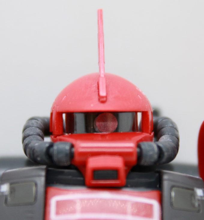 ジョニー・ライデン専用高機動型ザクIIの顔の画像です