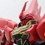 【ガンプラ】HGUC シナンジュ+ビルダーズパーツ システムウェポン007 レビュー