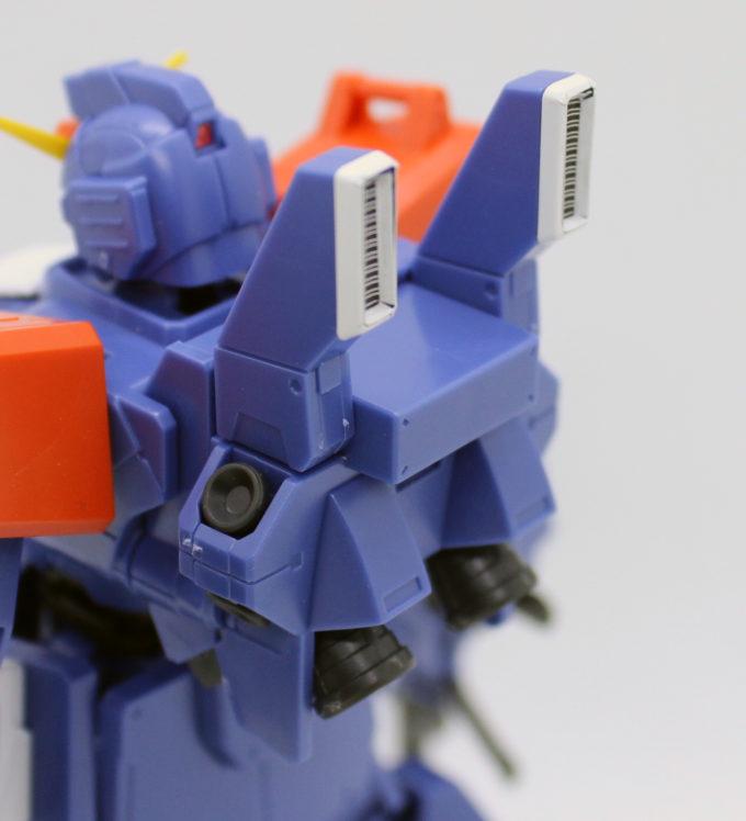 HGUCブルーディスティニー2号機EXAMのバックパック画像です