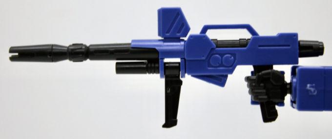 HGUCブルーディスティニー2号機EXAMの試作型ビーム・ライフル画像です