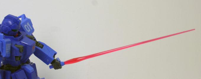 ブルーディスティニー1号機EXAMのビームサーベルの画像です