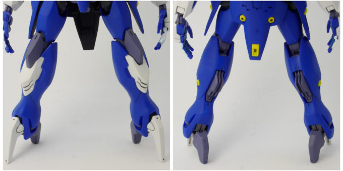 HGダハックの脚のレビュー画像です