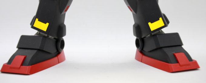 サイコガンダムの脚の画像です