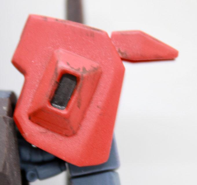 リックディアス(クワトロ・バジーナカラー)の肩の可動画像です