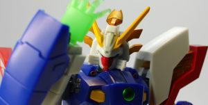 ロボット魂シャイニングガンダムの画像です