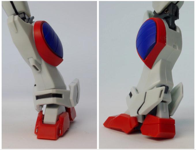 ロボット魂シャイニングガンダムの脚の画像です