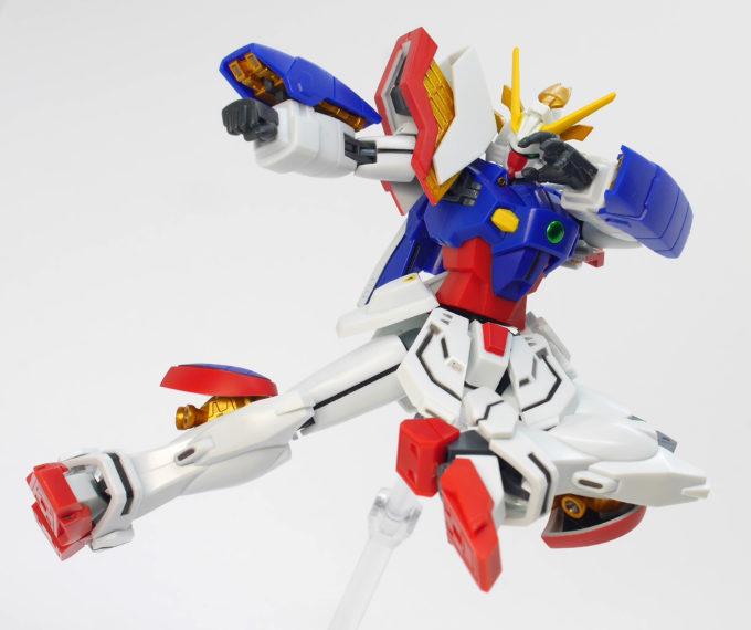 ロボット魂シャイニングガンダムのスーパーモードの画像です