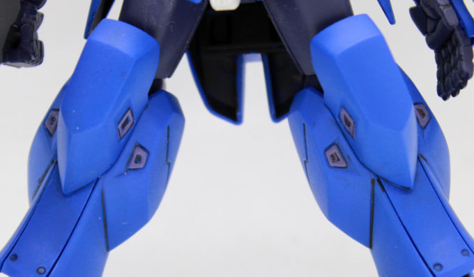 宇宙用ジャハナム(クリム・ニック専用機)の脚の画像です