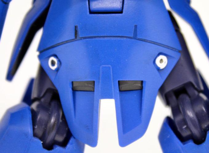 宇宙用ジャハナム(クリム・ニック専用機)のリアスカートの画像です