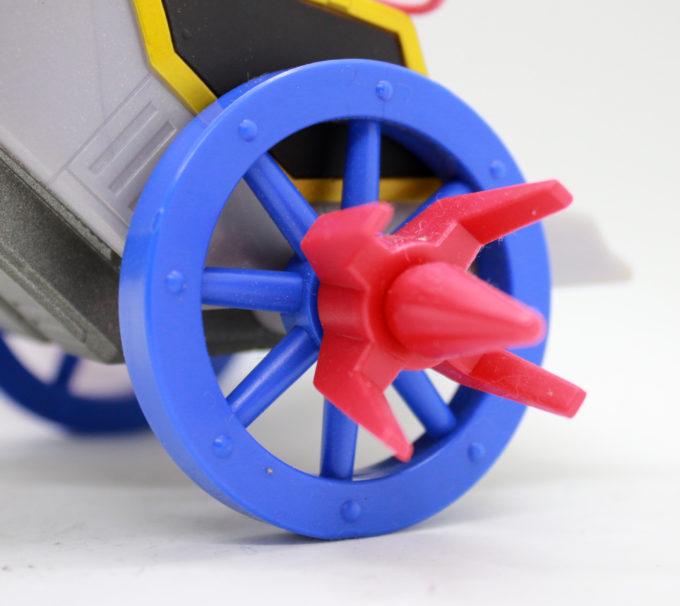 モビルホース・ハーキュリーの車輪の画像です