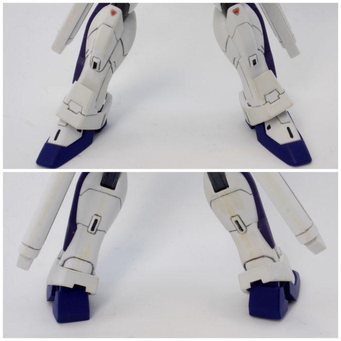 ガンダムXディバイダーの脚部の画像です