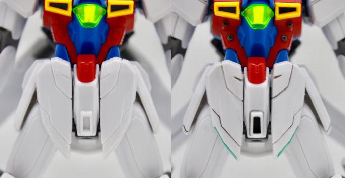 ガンダムX十魔王の色が足りないところを塗った画像です