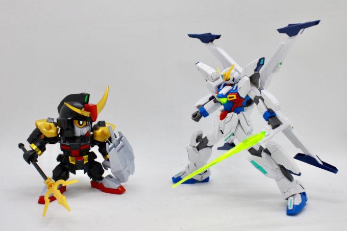 ガンダムX十魔王と武者頑駄無の画像です