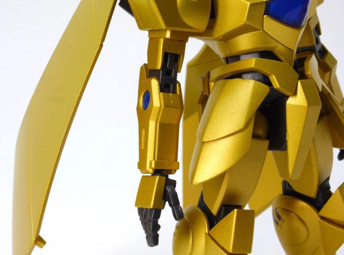 ROBOT魂アルヴァアロンの腕の画像です