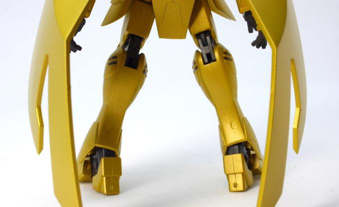 ROBOT魂アルヴァアロンの脚部の画像です