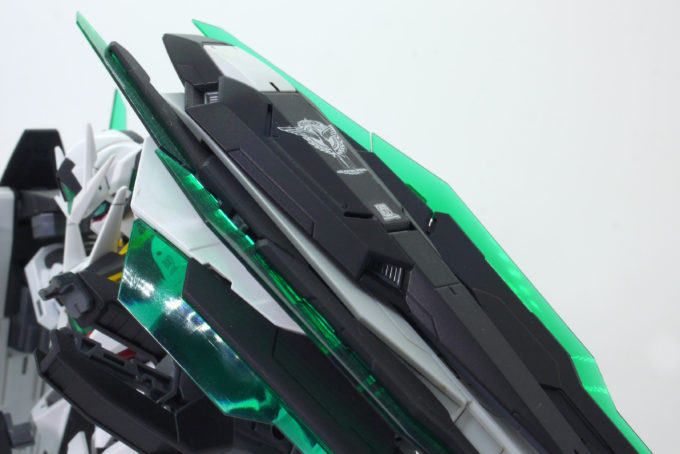 MGダブルオークアンタの改造品画像です