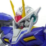 【ガンプラ改造】MG ダブルオーライザー【スジ彫り+塗装】