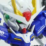 【ガンプラ改造】ダブルオーガンダム セブンソード/G BB戦士+HG ミキシングビルド【ニコイチ】