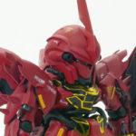 【ガンプラ改造】シナンジュ BB戦士+HGUC ミキシングビルド【ニコイチ】