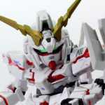 【ガンプラ改造】ユニコーンガンダム BB戦士+HG ミキシングビルド【ニコイチ】
