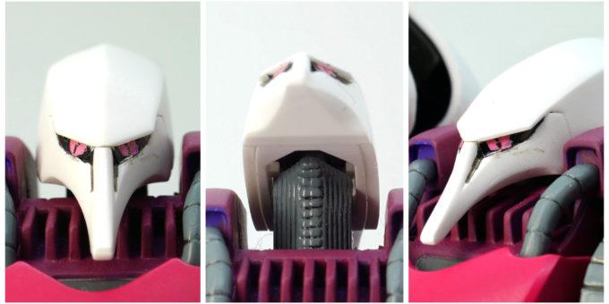 旧HGUC版キュベレイの頭部の画像です