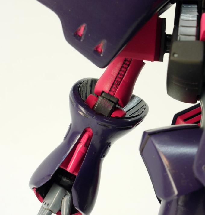 旧HGUCキュベレイMk-Ⅱ(エルピー・プル専用機)の腕関節のポリキャップ画像です