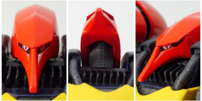 旧HGUCキュベレイMk-Ⅱ(プルツー専用機)の頭部の画像です