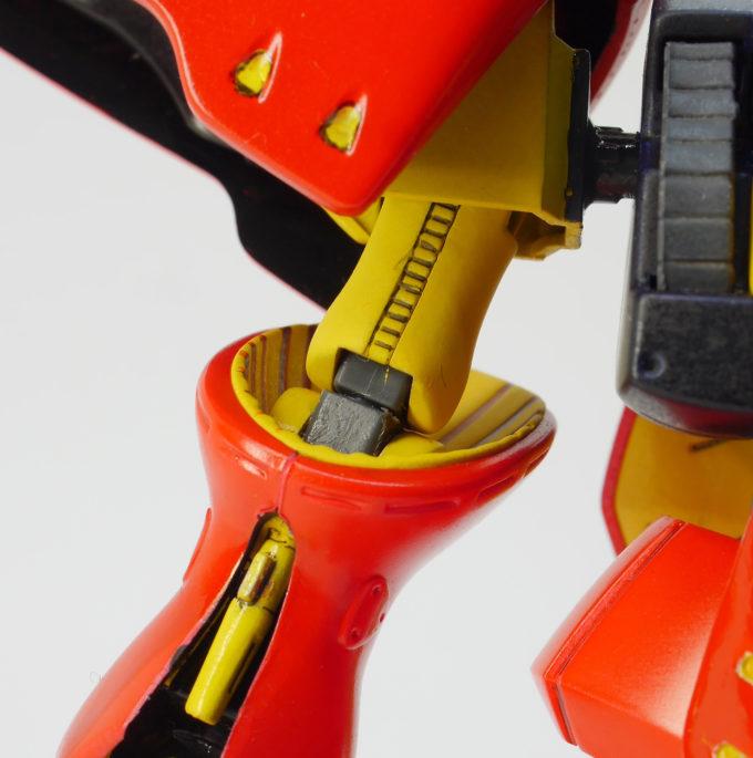 旧HGUCキュベレイMk-Ⅱ(プルツー専用機)の腕関節のポリキャップ画像です