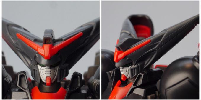 ROBOT魂マスターガンダムの頭部の画像です