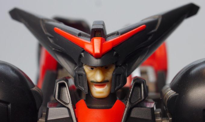 ROBOT魂マスターガンダムのマスターアジアの顔の画像です