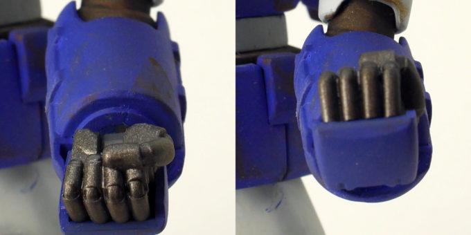 HGUC量産型ガンキャノン(ネメシス隊仕様)のガンプラ改造画像です