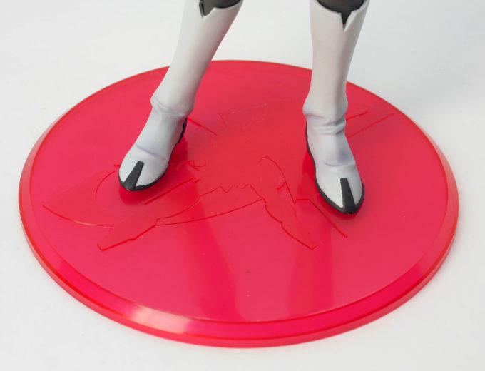 ルナマリア・ホークの台座のフィギュアレビュー画像です
