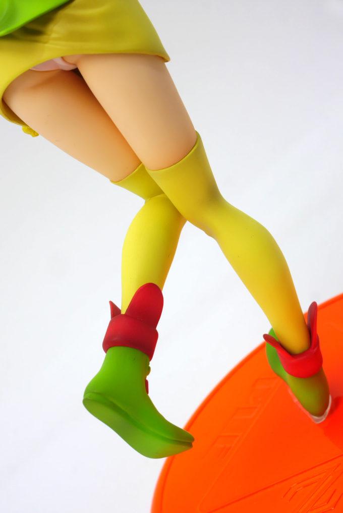 エルピー・プルの脚のフィギュアレビュー画像です