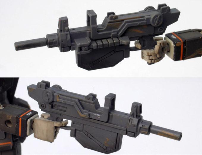 ガンダムFSDのMS用マシンガンの画像です