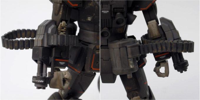 ガンダムFSDのベルト給弾式の画像です