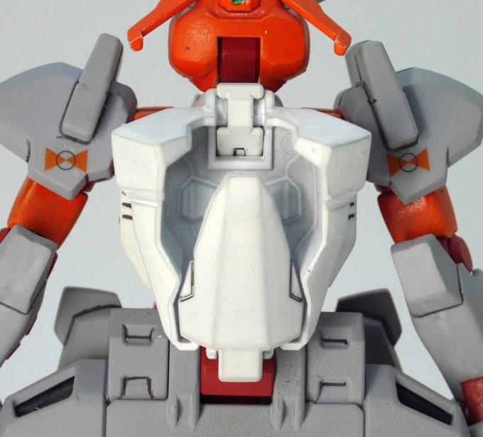 HG Gアルケインのバックパックのガンプラレビュー画像です