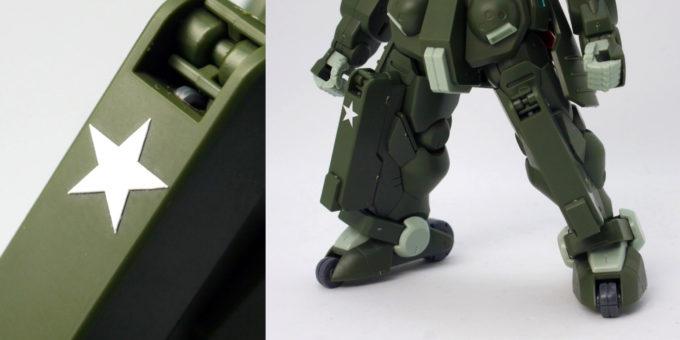 HGBFグリモアレッドベレーの脚部の画像です