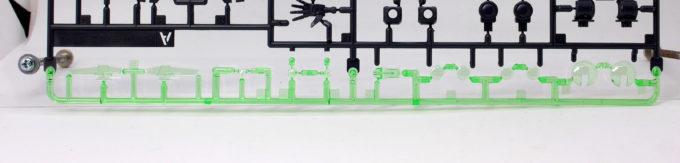 HGBDガンダムダブルオーダイバーのランナー画像です