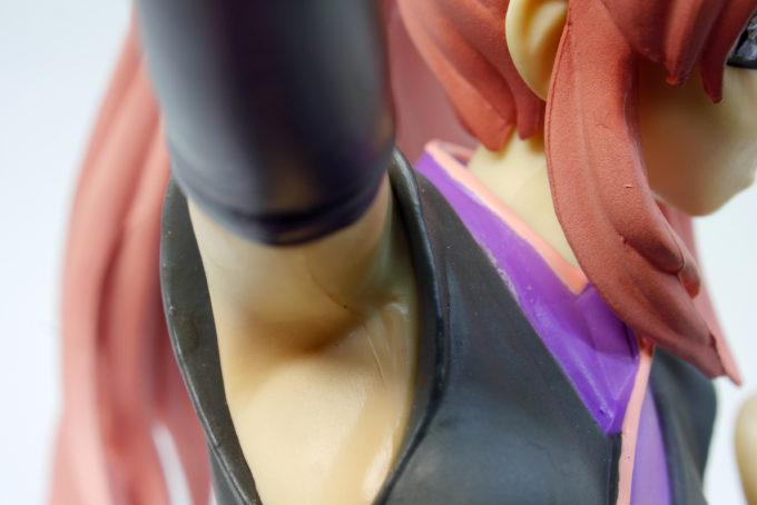 ラクス・クラインの腋のフィギュアレビュー画像です