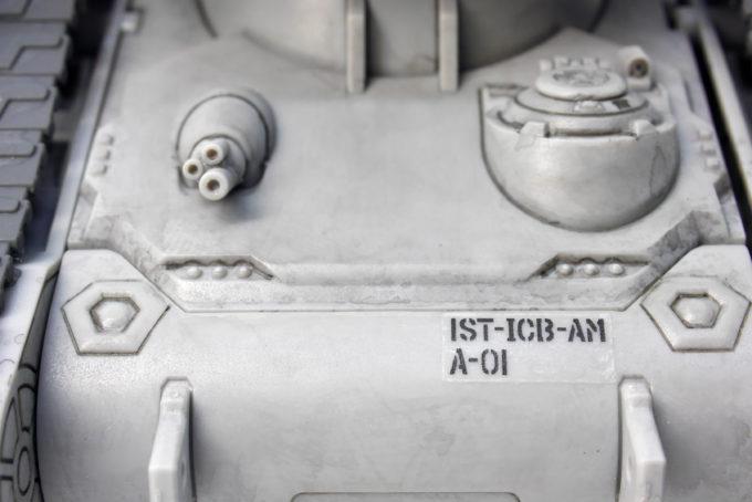 HGガンタンク最初期型のガンプラレビュー画像です