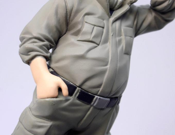 HG鉄華団のビスケット・グリフォンのフィギュアレビュー画像です