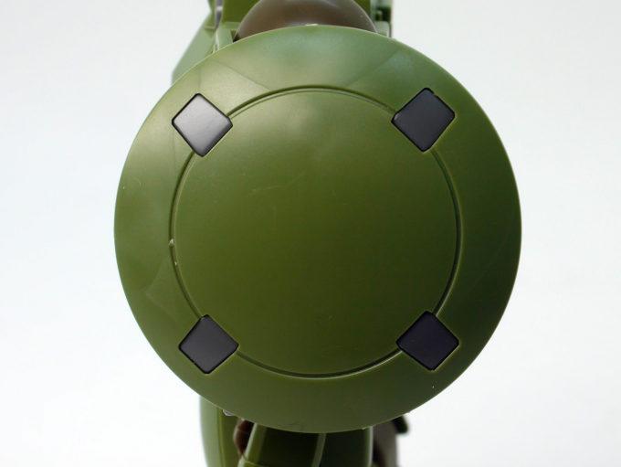 HGACリーオーのシールド色分けのガンプラレビュー画像です