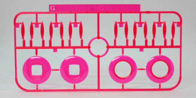 HGBDオーガ刃-Xのタイタスのビームエフェクトパーツのガンプラレビュー画像です