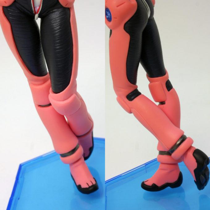 GGGアイーダ・スルガンの脚のフィギュアレビュー画像です