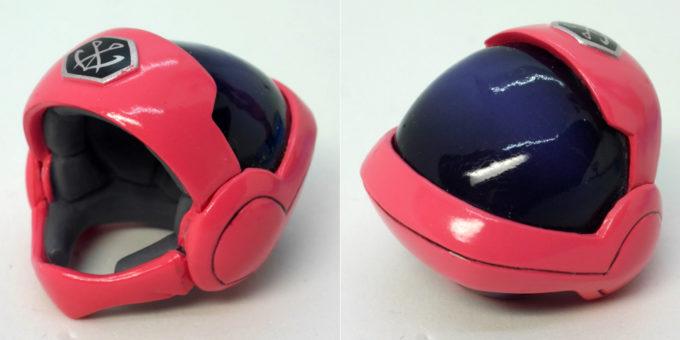 GGGアイーダ・スルガンのヘルメットのフィギュアレビュー画像です